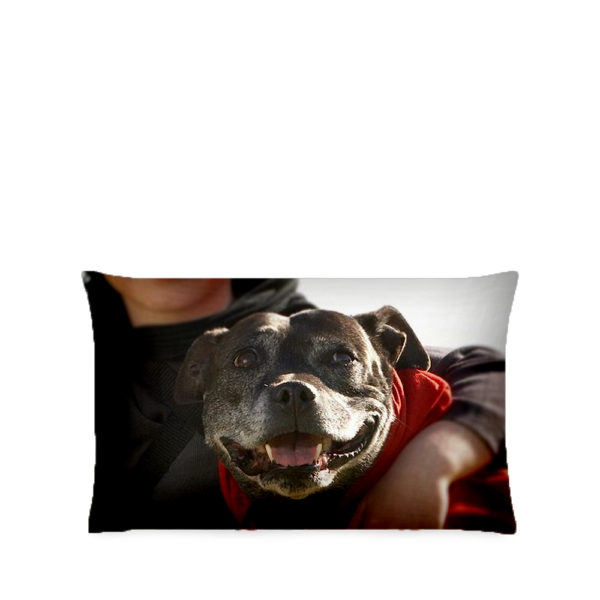 Personalised pet photo pillowcase