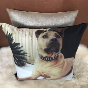 Pet Memorial Pillow - Keepsakes of Love - Bullmastiff
